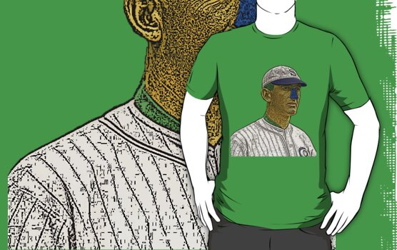 Shoeless Joe Jackson Chicago White Sox Culture Cloth Zinc Collection by CultureCloth