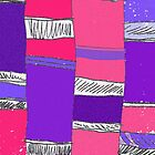 Purple Columns by Betty Mackey