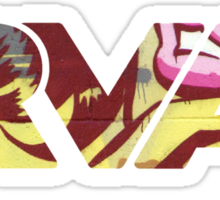 """RVA - Flood Wall """"For Lovers Stickers"""" Sticker"""