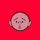 Karl Pilkington - Head - RED by aelari1