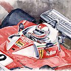 Ferrari 312 T 1976 Clay Regazzoni by Yuriy Shevchuk