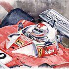 Ferrari 312 T 1976 Clay Regazzoni by Yuriy Shevchuk
