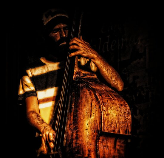 Mr. Bass man by Alan Mattison