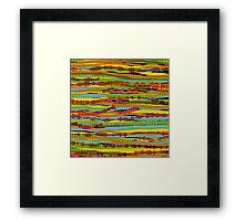 pattern - spaghettis 1 Framed Print