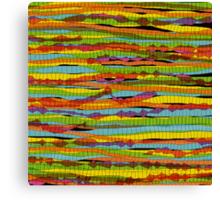 pattern - spaghettis 1 Canvas Print