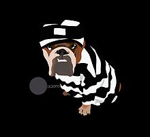 prison dog T-T by HummY