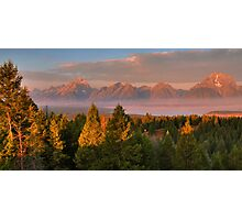 Grand Teton Morning Photographic Print