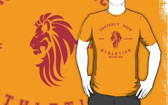 HOUSE LANNISTER ATHLETICS by amanoxford