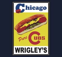 Chicago Cubs Vienna Beef Hot Dog Special circa 1972 by chicagoguy68