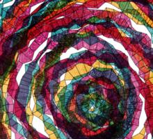 spaghettis spiral Sticker