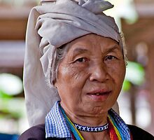 Padong Elder Woman by phil decocco