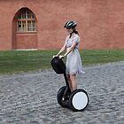 girl on the Segway by mrivserg