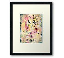 Poster: Fluttershy Framed Print