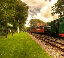 Woody Bay Station  by Rob Hawkins