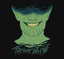 Trust No One (Skrull) by Sara Machajewski