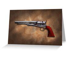 Gun - Model 1860 Colt Army Revolver Greeting Card