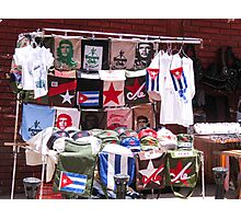 Street stall. Photographic Print