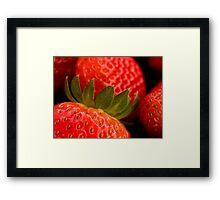 Berry yummy Framed Print