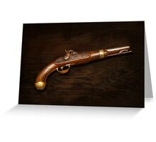 Gun - US Pistol Model 1842 Greeting Card