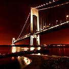 The Verrazano-Narrows Bridge by Roddy Atkinson