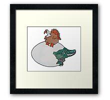 Turkey or the Egg Framed Print