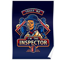 Trust The Inspector - POSTER Poster