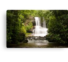 Full View of Boren Mill Shoals Falls! Canvas Print