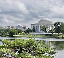 The Thomas Jefferson Memorial by AnnDixon
