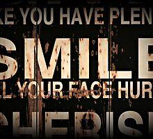 Smile till your face hurts by Karen Tregoning