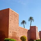 Rampart of Marrakech by Pat Garret