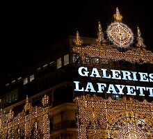 Galeries Lafayette in Paris by Pat Garret