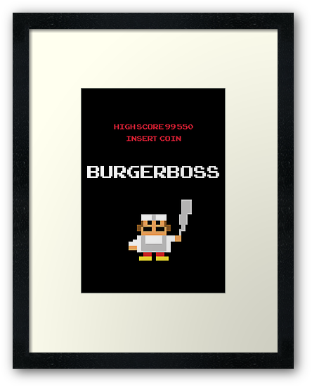 burger boss arcade by timmehtees