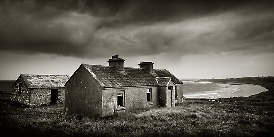 Abandoned Cottage, Co Mayo, Ireland by 2cimage