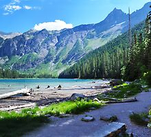 Avalanche Lake - Glacier National Park by Ian Berry
