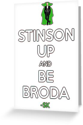 STINSON UP AND BE BRODA! by ShubhangiK