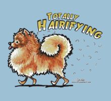 Pomeranian :: Totally Hairifying by offleashart