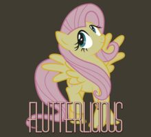 Flutterlicious Shirt (My Little Pony: Friendship is Magic) by broniesunite