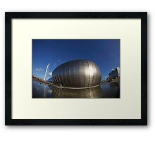 Science Centre Glasgow Framed Print