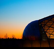 Science Centre Glasgow sunset by GillianSweeney