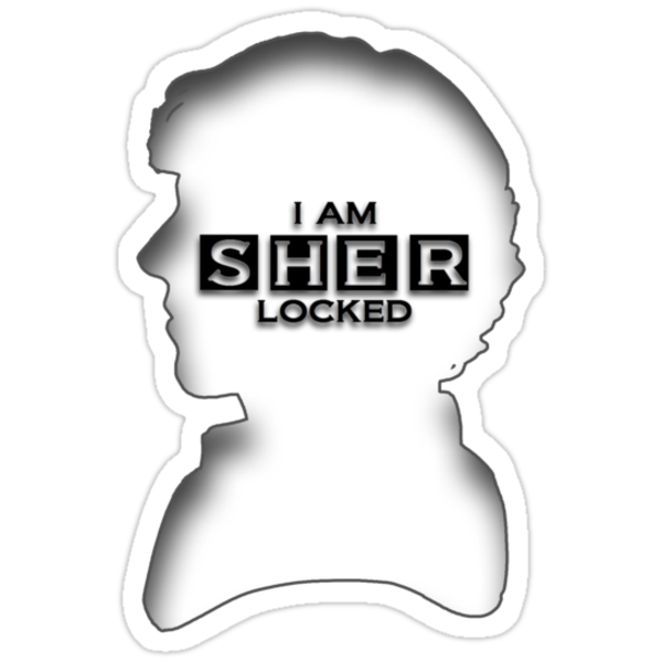 I AM SherLOCKed [Compact Shadowed Version] by devige