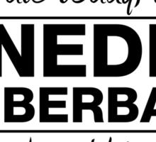 "Benedict Cumberbatch - ""If I Die"" Series (Black) Sticker"