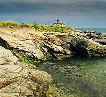 Beavertail Lighthouse by HerbPhotography
