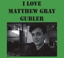 I <3 Matthew Gubler Tee by BegitaLarcos