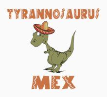 Tyrannosaurus Mex by pixelman