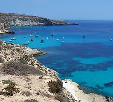 Lampedusa gulf by Gandolfo Cannatella