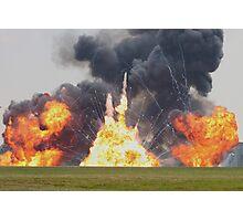 Huge pryotechnics explosion. Photographic Print