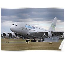 A380 Airbus Poster