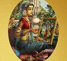 Shree Radharani by Vrindavan Das