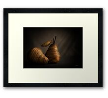 A Still Life with Pears Framed Print