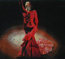 Dramatic in Scarlet by Cherise Foster